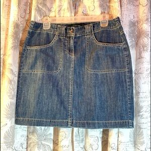 KLEIN ♥️ Jeans Blue Mini Skirt
